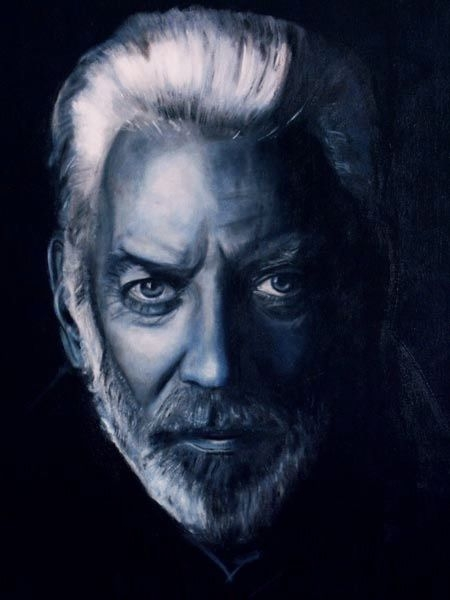 Donald Sutherland by Qwiepke